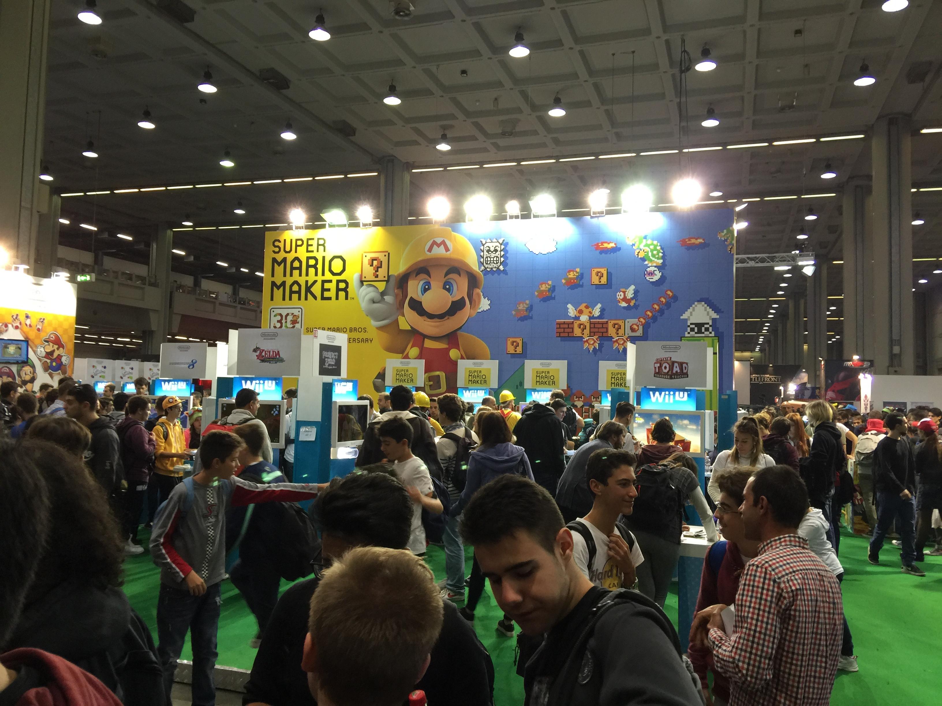 Nintendo si presenta in grande